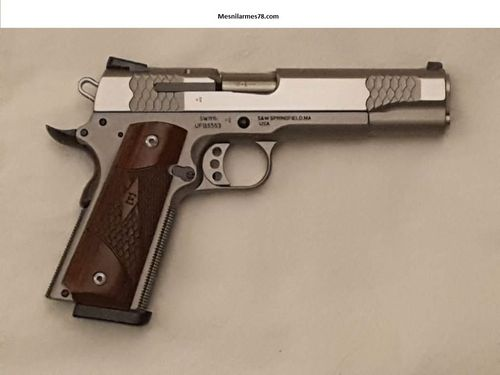 Smith et Wesson 1911 E-Serie cal 45ACP Inox